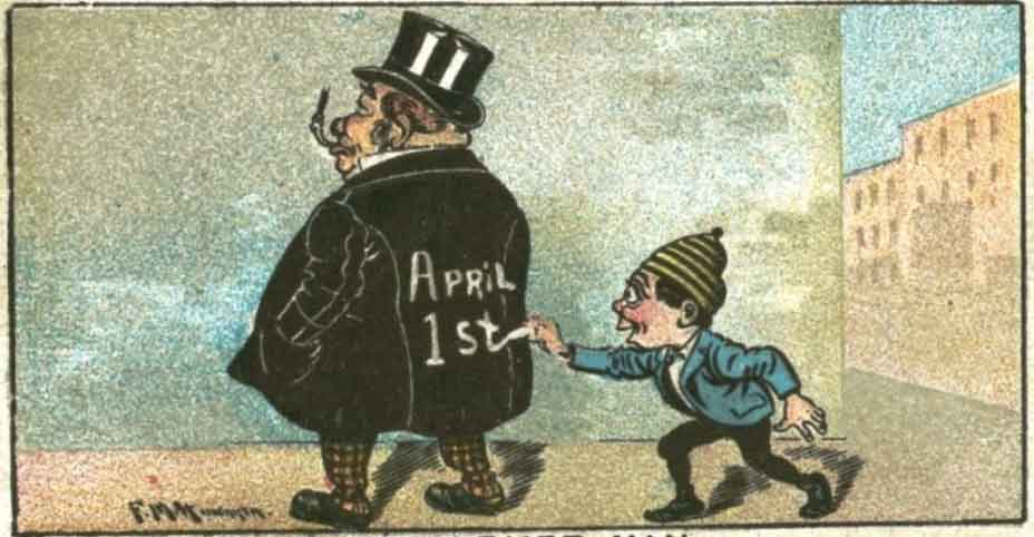 April 1st April Fools' Day pranks behind your back different traditions
