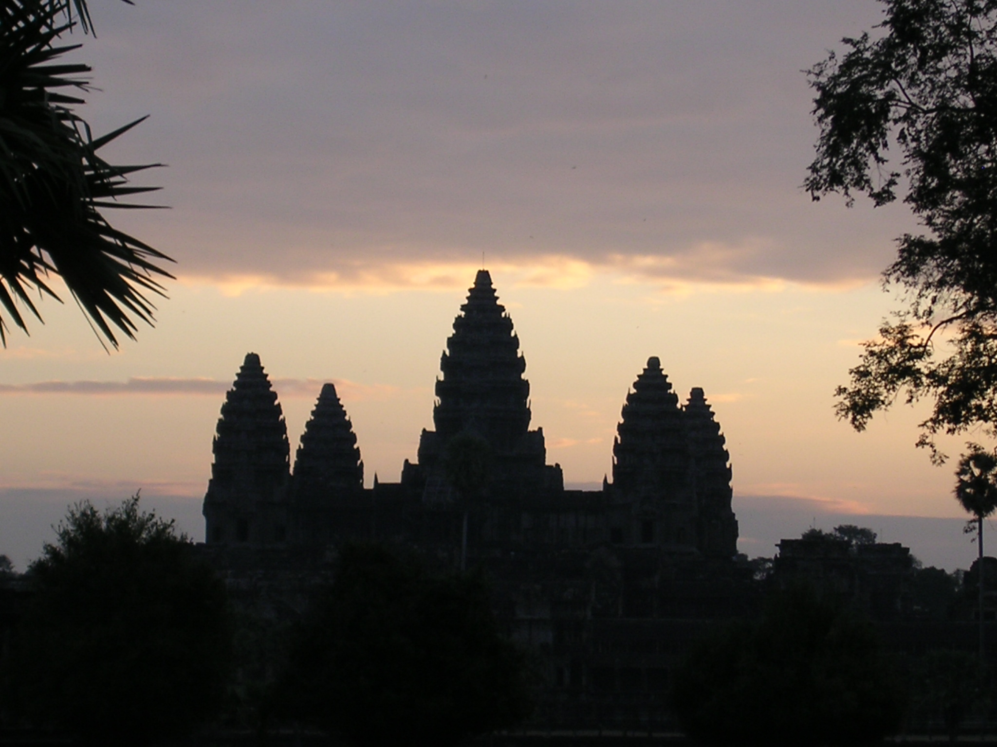 Angkor Wat temples at dawn in Cambodia memorable travel experience