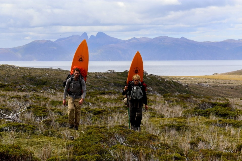 Gauchos del mar surfboard reconnect with nature in Patagonia Luxpedition