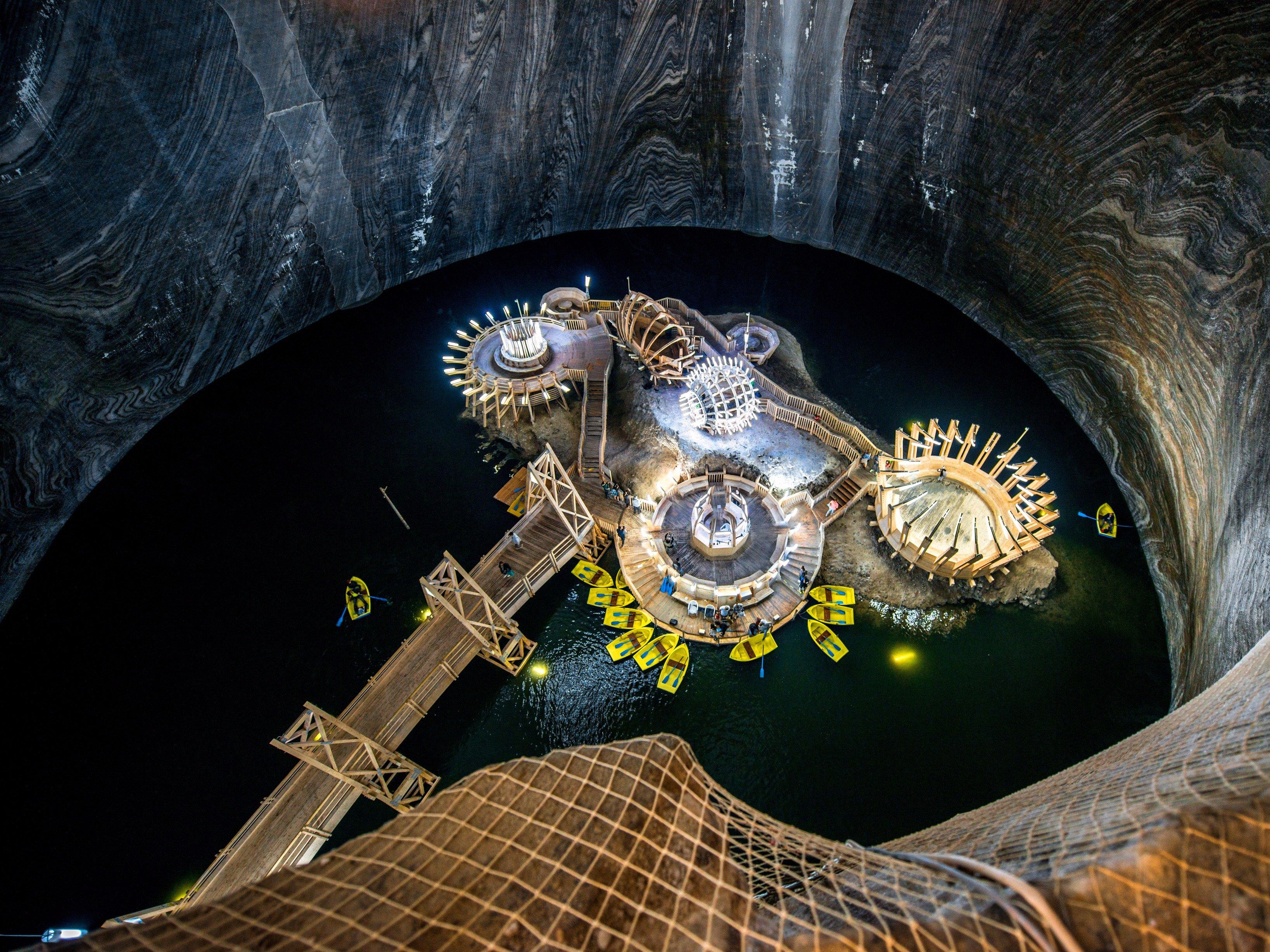 Salina Turda in Romania stunning underground caverns for halotherapy