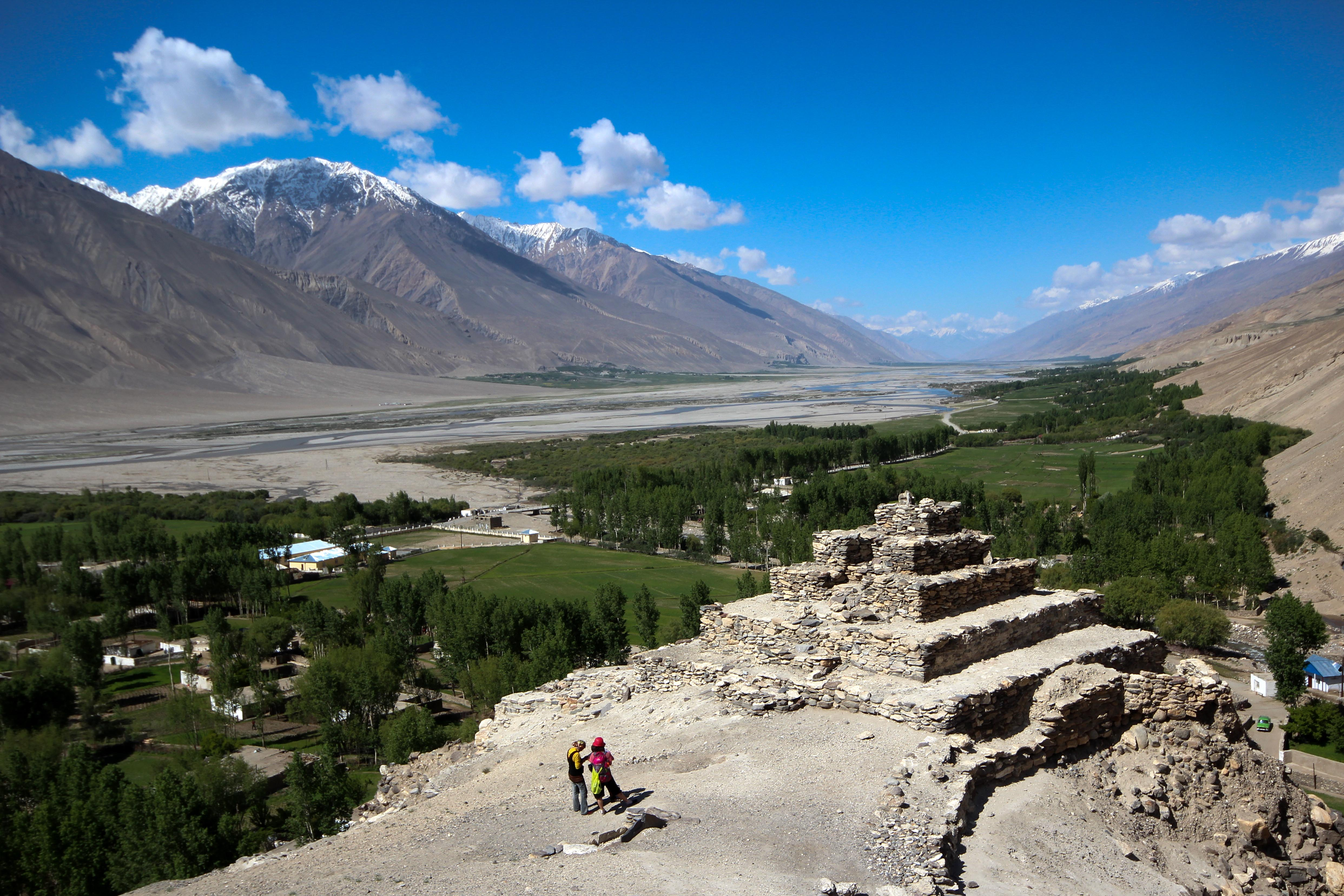 Wakhan Corridor Afghanistan adventure playground for trekking and climbing