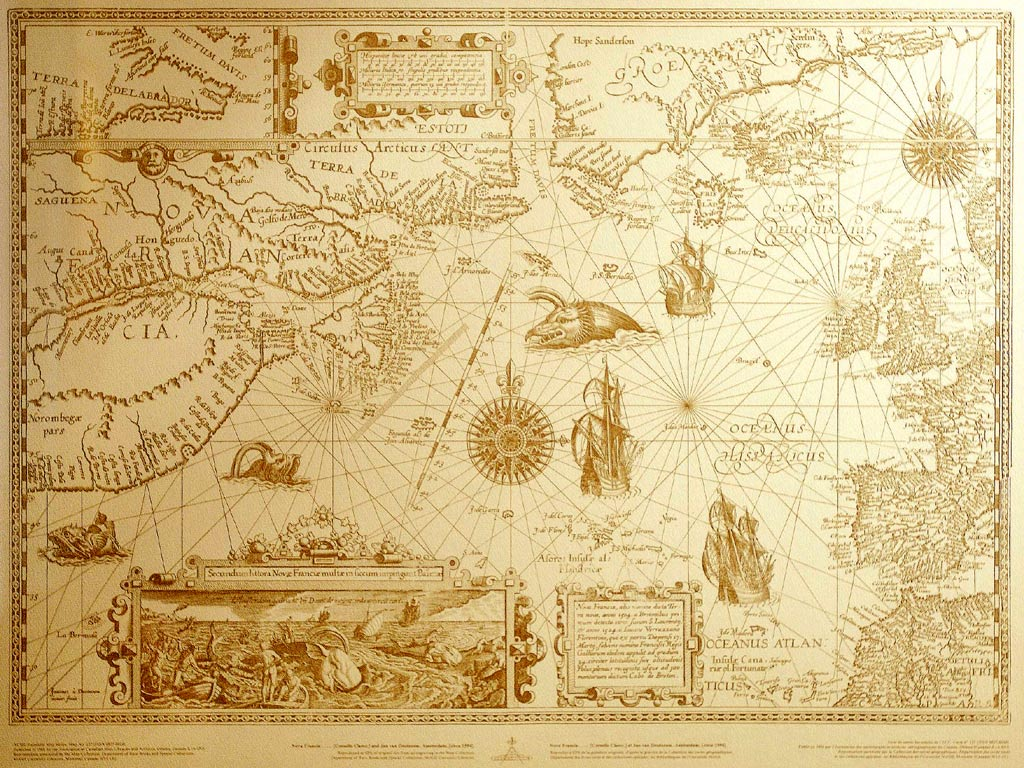 Old map from drunken sailors with sea monsters tales reveal the secrets bespoke trip