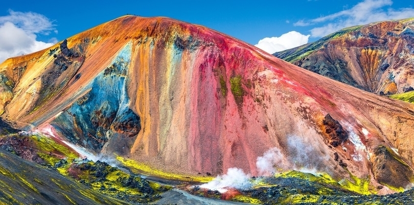 Landmannalaugar colourful mountains in Iceland