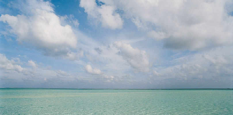 Endless crystal waters of Baa Atoll a UNESCO Biosphere Reserve