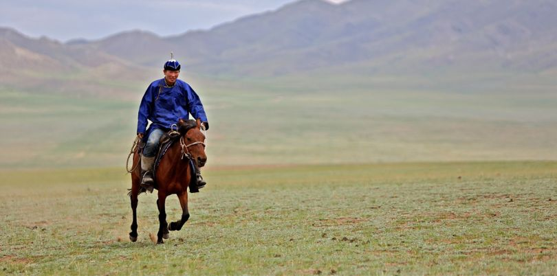 Rider in Mongolia