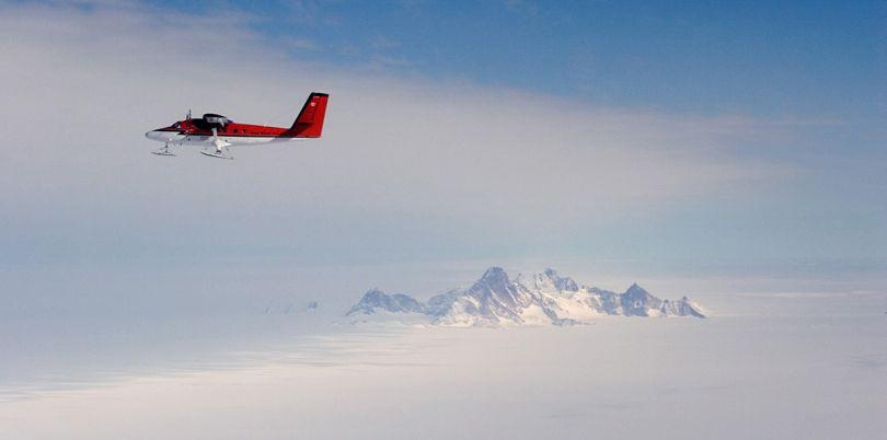 Small plane charter across Antarctica