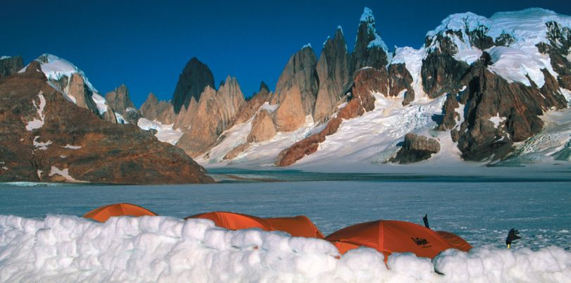 Ice trekking in Argentina