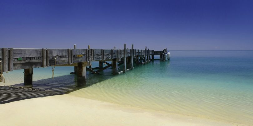 Pier in Northern Australia