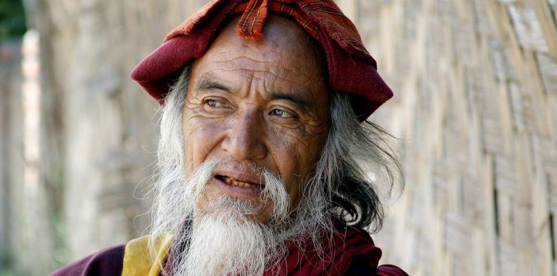Bhutanese monk, Bhutan