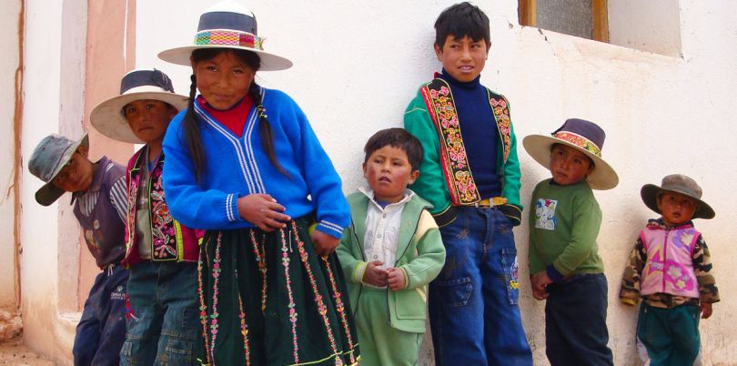 Children, Bolivia