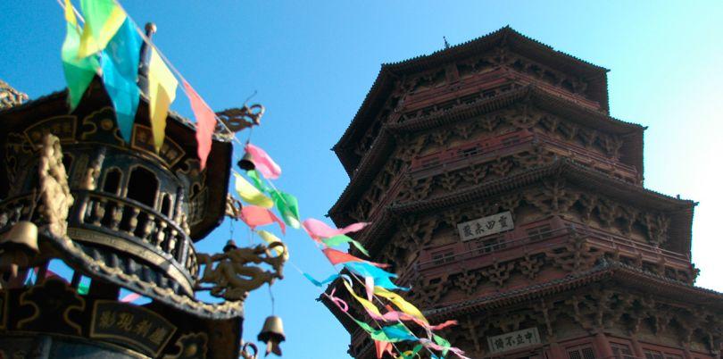 Woden Pagoda, Datong, China