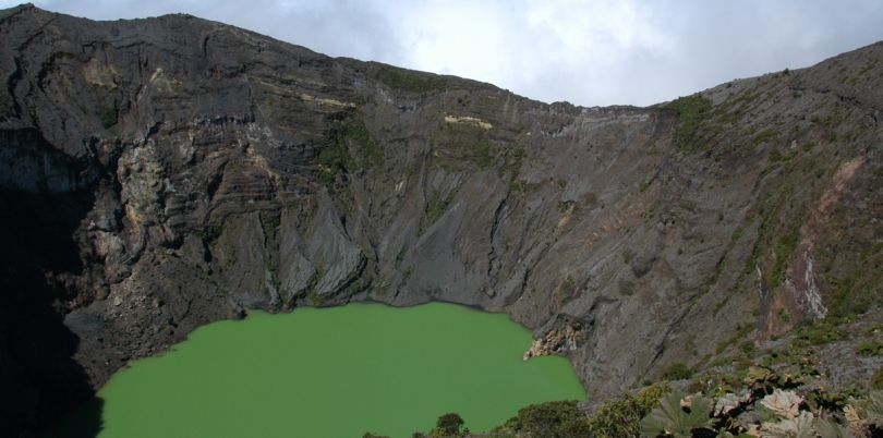 Volcan Irazu in Costa Rica