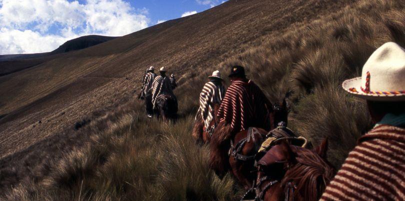 Horseride, Cotopaxi, Ecuador