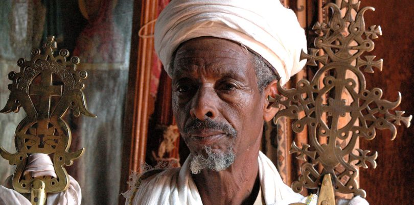 Ethiopian man from Lalibela