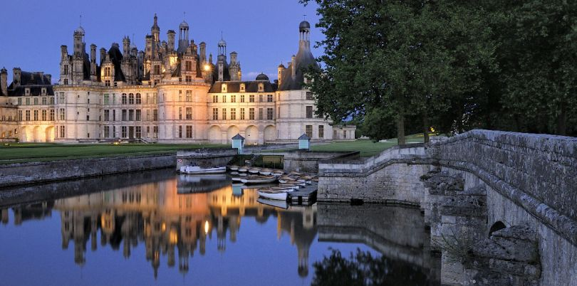 Chateau de Chambord, Centre, France