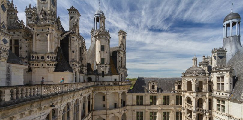 Chambord Terrace, France