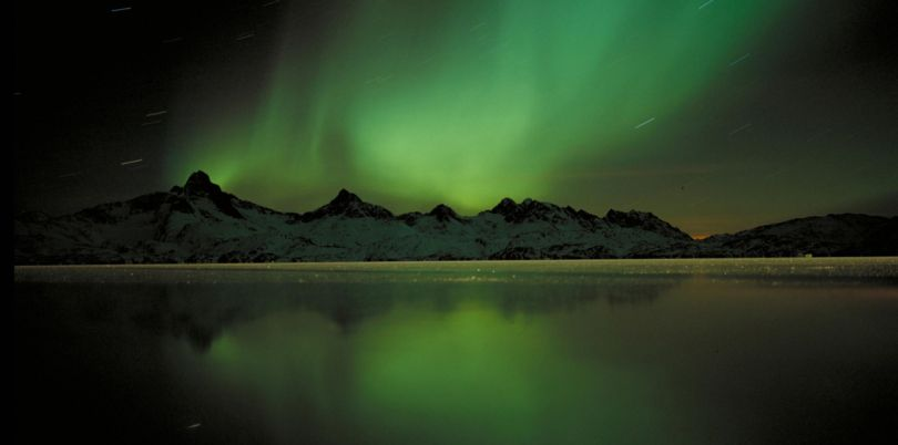 Green Northern Lights, Greenland