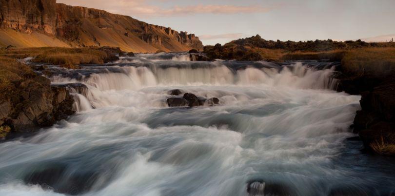 Little waterfall, Iceland