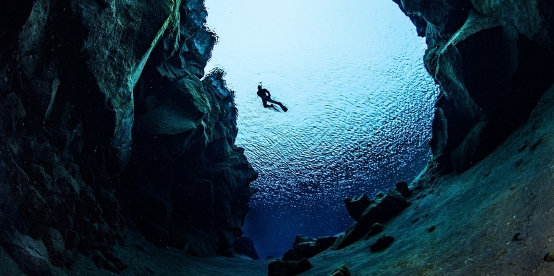 Diving, Iceland