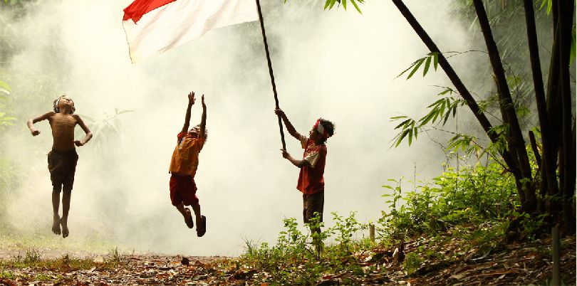 Bendera Ku, Indonesia,