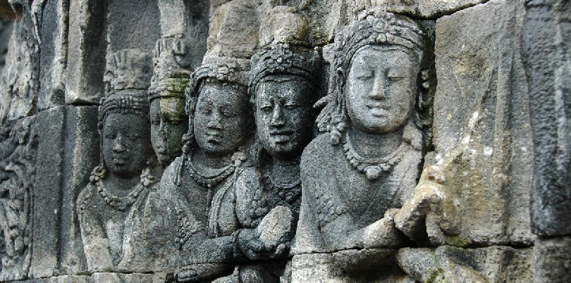 Borobudar site, Indonesia