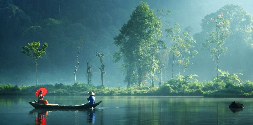 Silent morning, West Java, Indoneisa