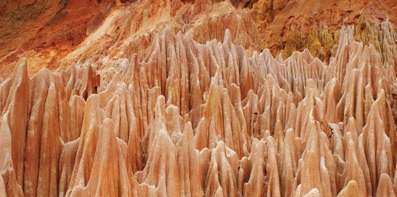 Tsingy Rouge, Red Tisngy, Madagascar