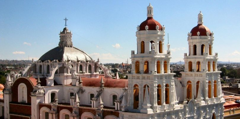 Puebla Mexico view, Mexico
