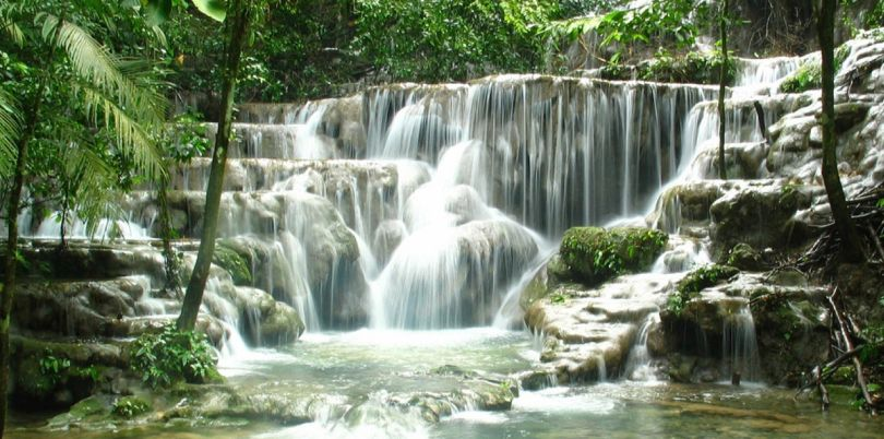 Waterfall Palenque, Mexico