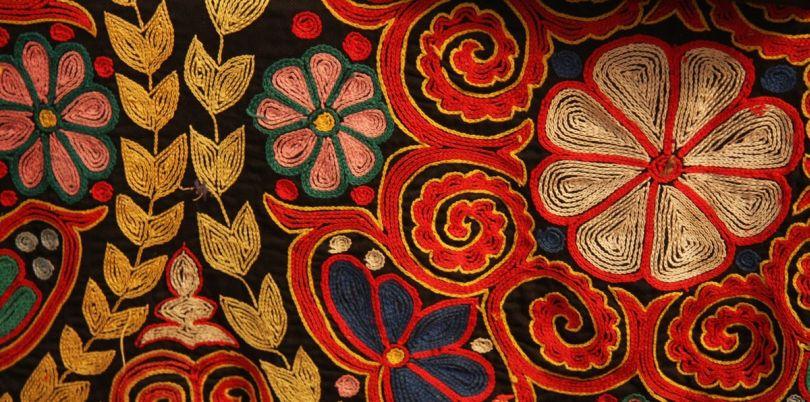 Kazakh embroidery, Mongolia