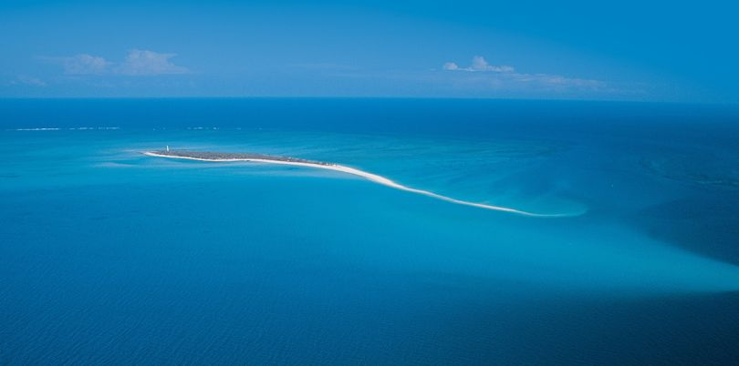 Medjumbe Island, Aerial, Mozambique