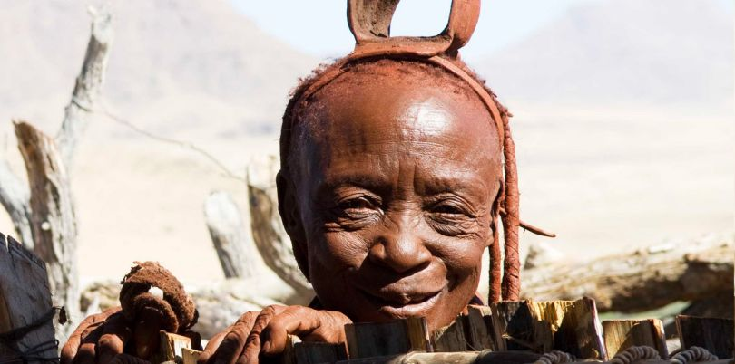 A member of the Himba tribe, Namibia