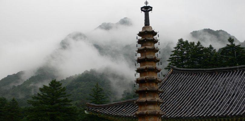 Pohyon Buddhist Temple, Mount Myohyang, North Korea