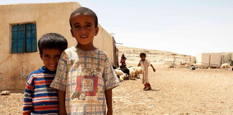 Two local boys, Oman