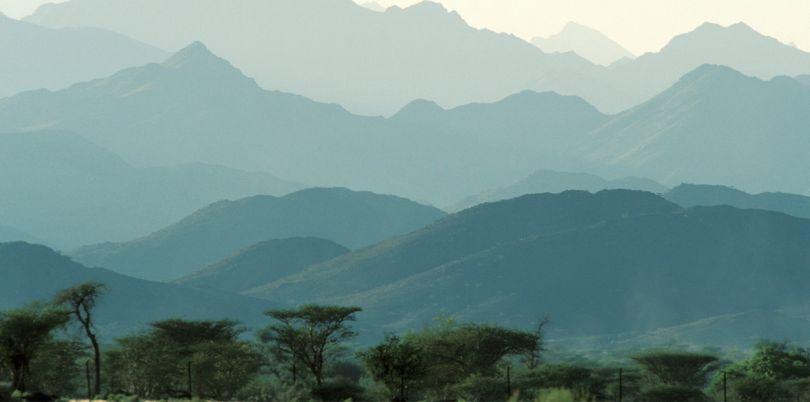 Mountain landscape, Oman