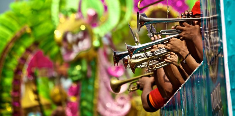 Trumpeters at the Panama Jazz Festival