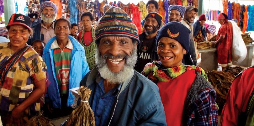 Indigenous people in Papua New Guinea