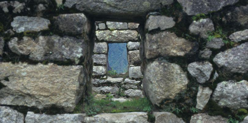 Stones at Machu Pichu, Cusco, Peru