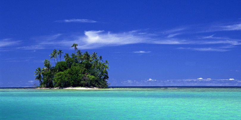 Island in the South Pacific