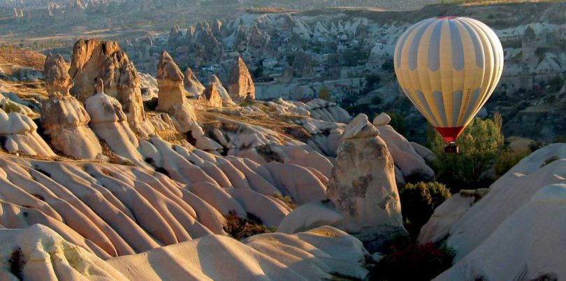 Hot air ballooning in Turkey