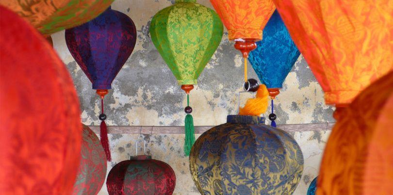 Paper lanterns in Vietnam